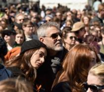 George Clooney e Amal a #MarchForOurLives