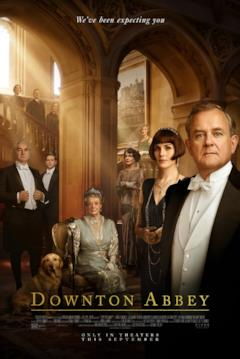Il cast all'interno del castello nel poster internazionale di Downton Abbey