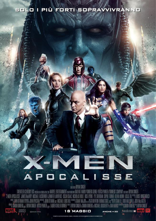 I protagonisti del film X-Men: Apocalisse