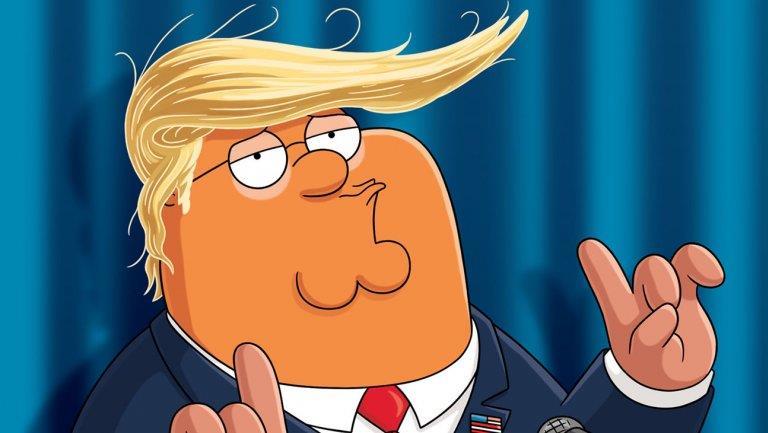 I Griffin: Peter nei panni di Donald Trump per la campagna agli Emmy