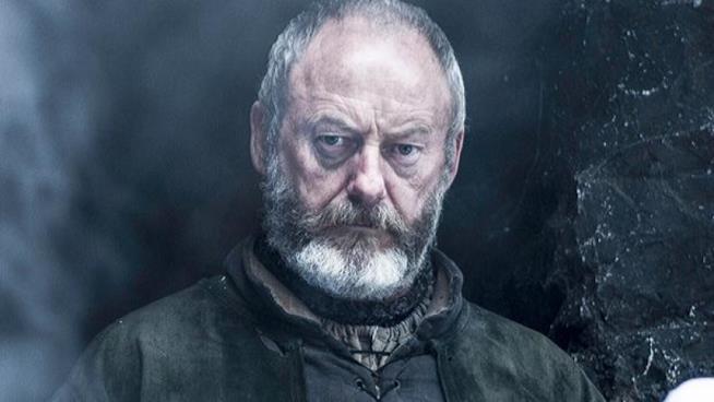 Liam Cunningham interpreta Ser Davos in Game of Thrones