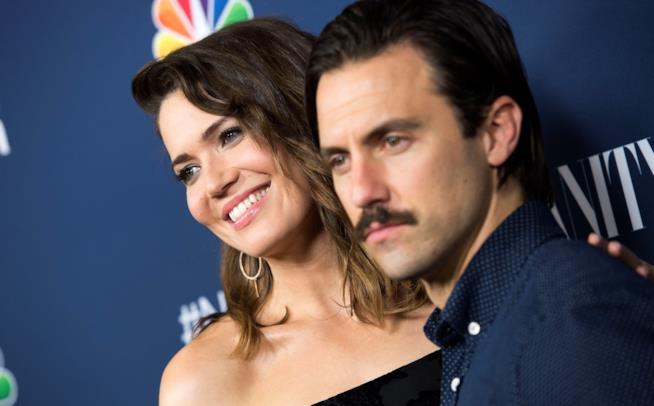 Mandy Moore (Rebecca) e Milo Ventimiglia (Jack)