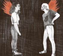 La cover di Brucia di Silvia Rocchi