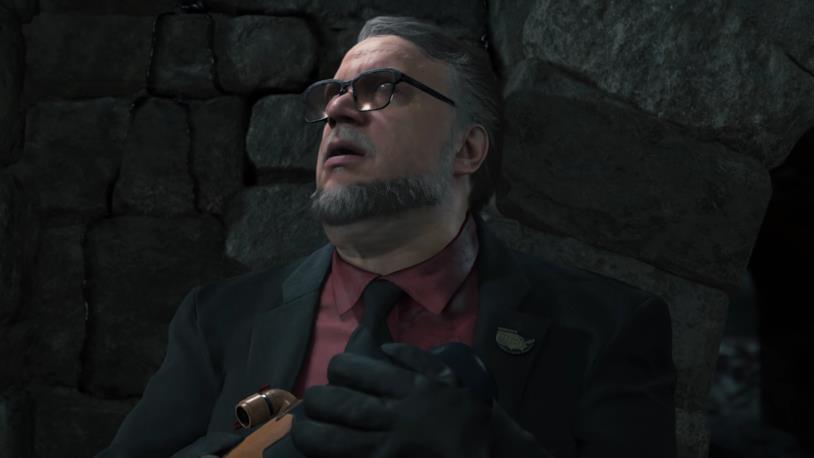 Guillermo del Toro in Death Stranding