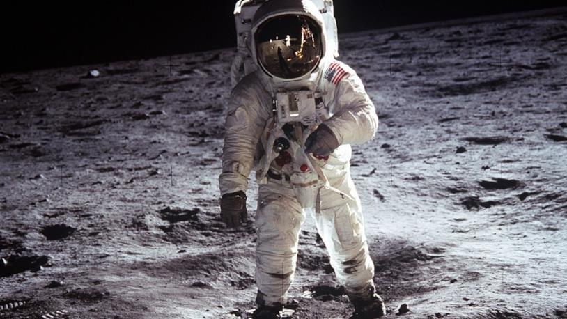 Una scena del documentario spaziale del 1989