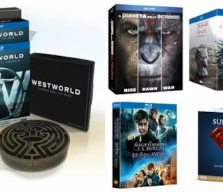 Alcune delle proposte Warner Bros. per il Natale 2017