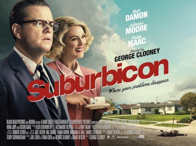 Il poster vintage di Suburbicon