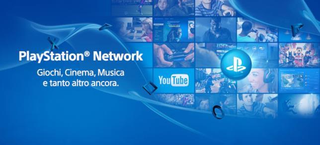 Immagine promozionale di PlayStation Network