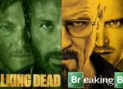 Un'immagine riunisce i protagonisti di The Walking Dead e Breaking Bad