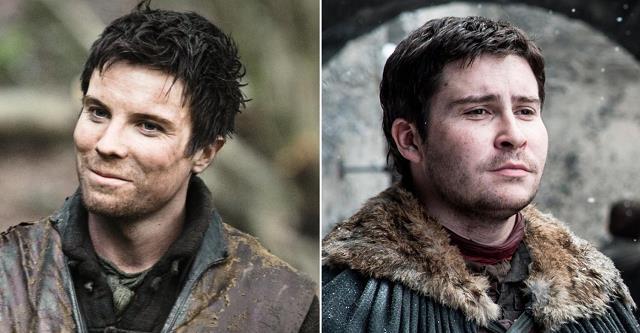 Joe Dempsie e Daniel Portman in Game of Thrones