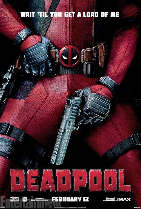 Il poster rivelato durante 12 Giorni di Deadpool