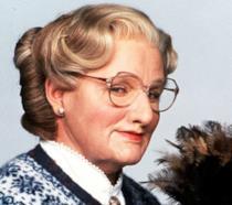 Una scena di Mrs. Doubtfire