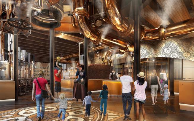 Il ristorante The Toothsome Chocolate Factory & Savory Feast Emporium