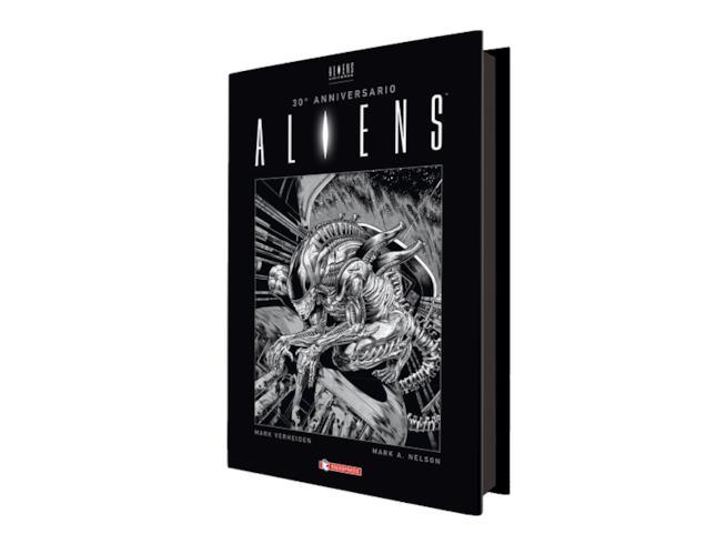 Aspetto del volume Aliens 30° Anniversario