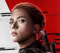 Scarlett Johansson nel character poster di Black Widow