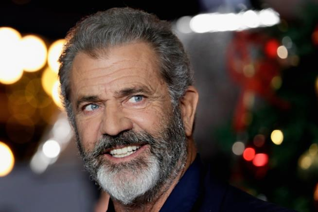 L'attore Mel Gibson