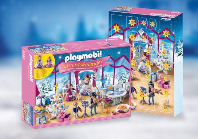 Playmobil: il calendario dell'avvento Ballo nel salone di cristallo