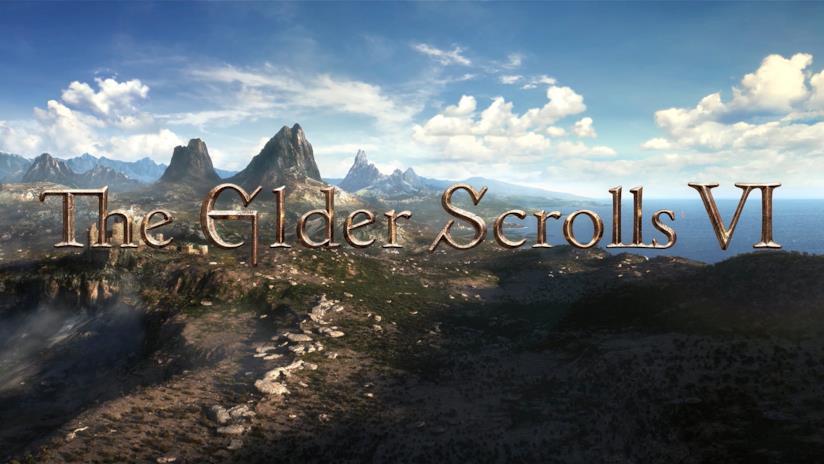 Un'immagine dal teaser di annuncio di The Elder Scrolls 6