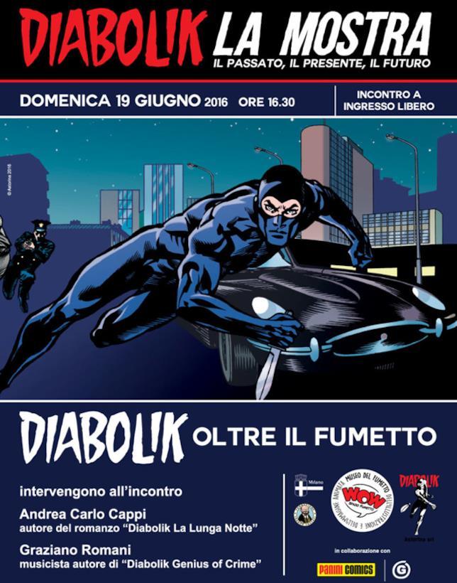 Mostra Diabolik poster