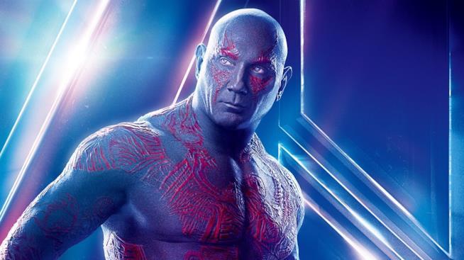 Guardiani della Galassia Vol 3 potrebbe dover fare a meno di Drax