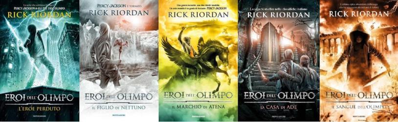 Eroi dell'Olimpo di Rick Riordan