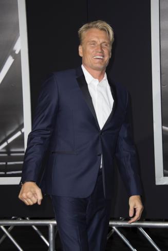 L'attore svedese Dolph Lundgren