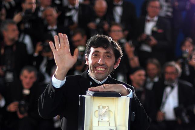 Marcello Fonte riceve la palma come miglior attore