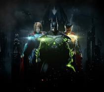 La cover ufficiale di Injustice 2