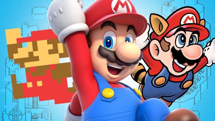L'evoluzione di Super Mario