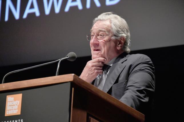 Robert De Niro al Chaplin Award Gala