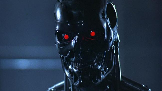 L'endoscheletro del Terminator in Terminator