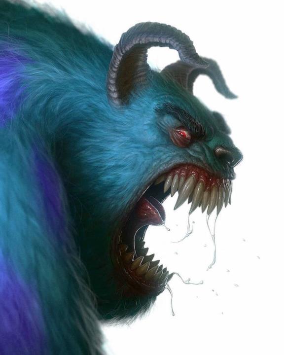 Personaggi dei cartoni animati horror scaricare vettori premium