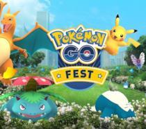 La locandina del Pokémon GO Fest