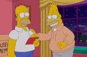 I Simpson: Homer e Nonno Abe