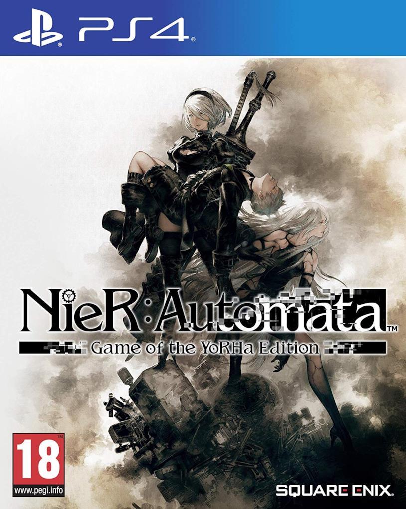 La cover art ufficiale di Nier: Automata