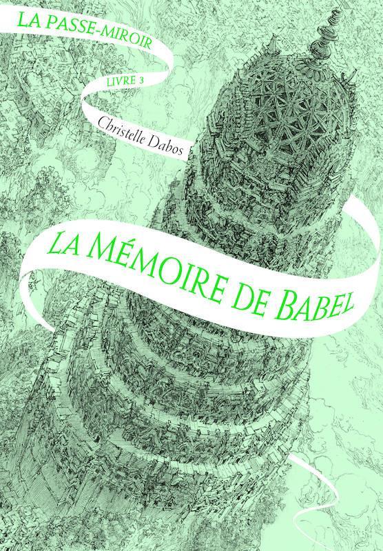 La copertina del terzo volume della saga dell'Attraversaspecchi