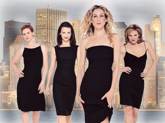 Carrie, Miranda, Charlotte e Samantha