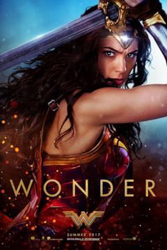 Diana usa la spada nel poster 'Wonder' di Wonder Woman