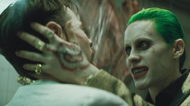 Il Joker di Jared Leto in Suicide Squad