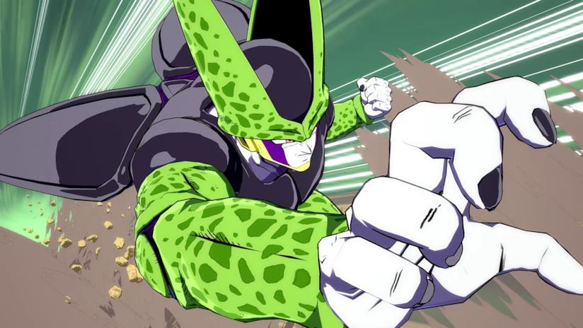Cell combatte in Dragon Ball FighterZ