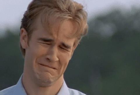 Dawson che piange: la GIF