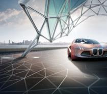 Il piacere di guidare ad un livello del tutto nuovo con la BMW Vision Next 100