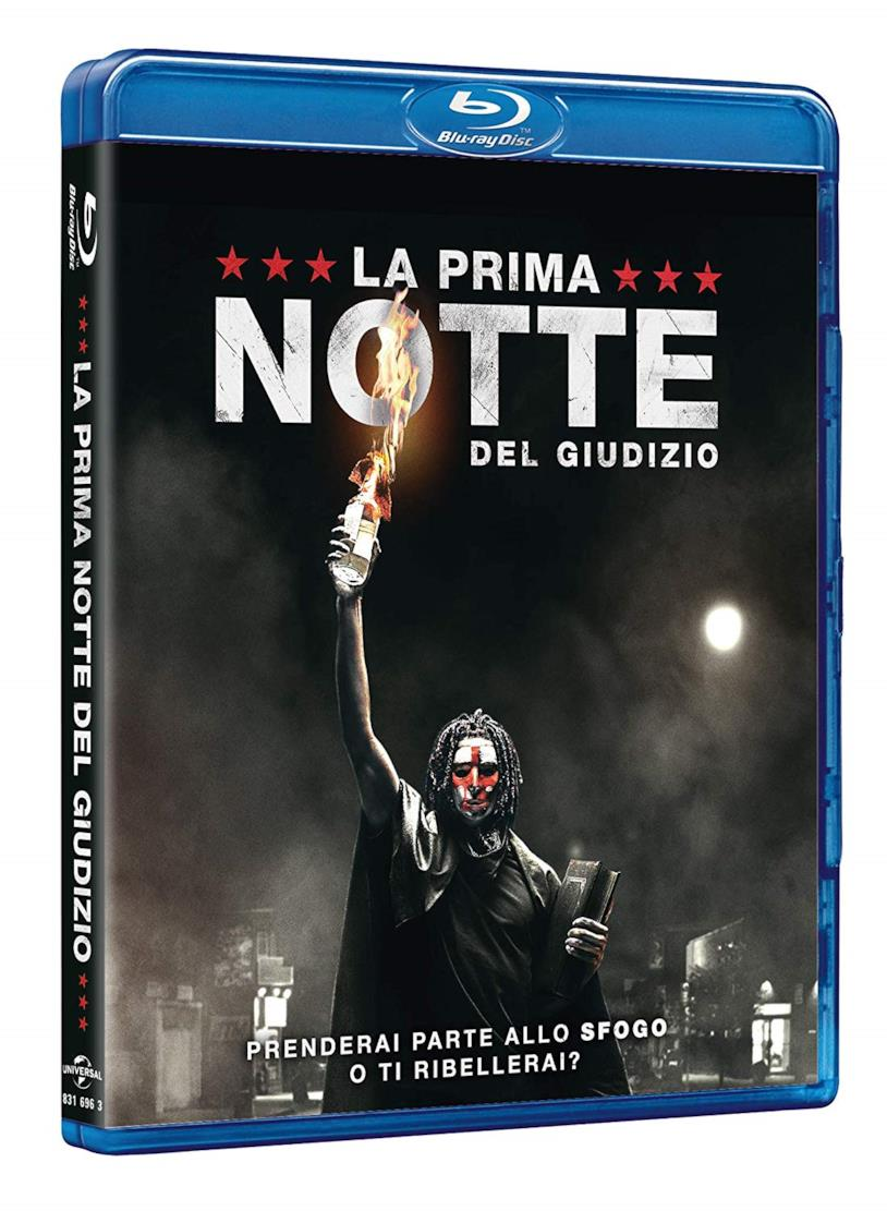 L'edizione Blu-Ray del film La prima notte del giudizio