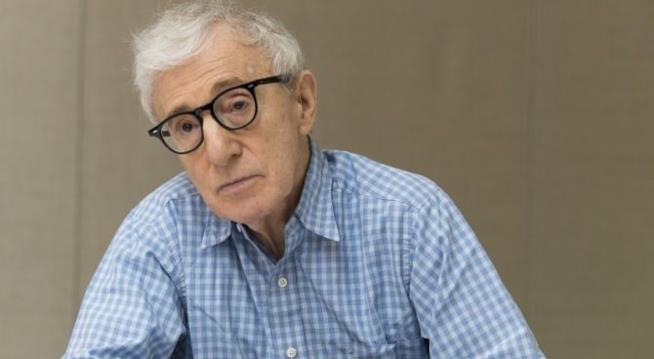 Il regista Woody Allen