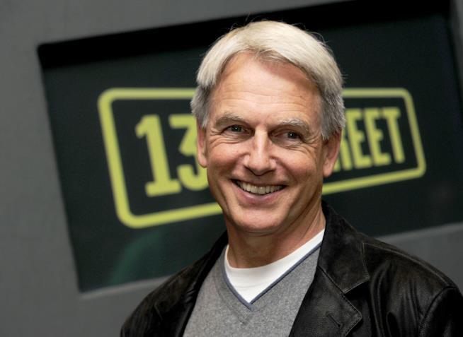 Un sorridente Mark Harmon