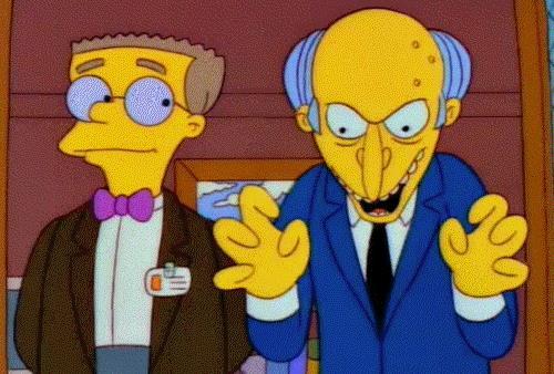 Il Signor Burns è uno dei migliori cattivi di sempre