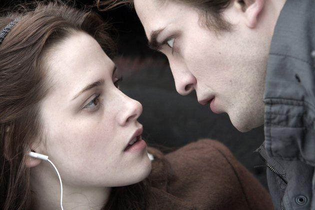 Kristen Stewart e Robert Pattinson ai tempi di Twilight