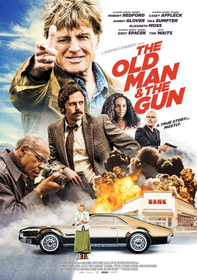 Poster ufficiale di The Old Man & the Gun