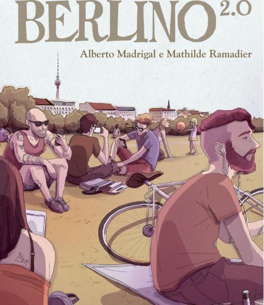 La cover del fumetto Berlino 2.0 di Alberto Madrigal