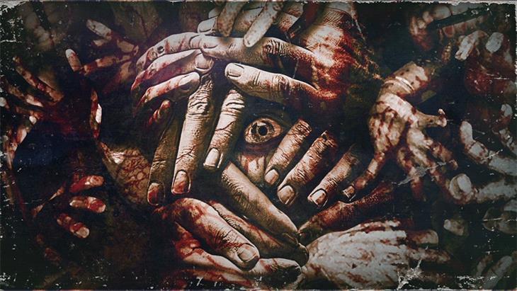 La GIF di un inquietante occhio da The Evil Within 2